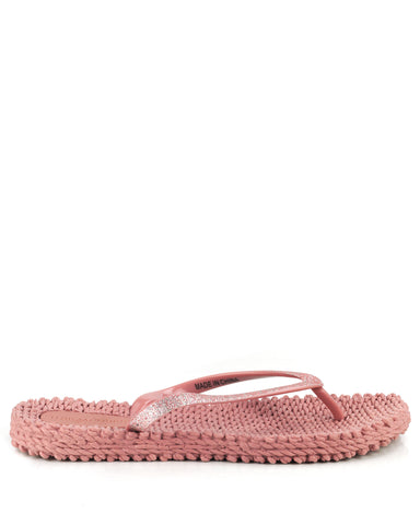 Cheerful Flipflops Misty Rose - The Espadrille Hut