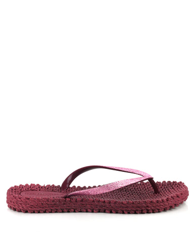 Cheerful Flipflops Rubino - The Espadrille Hut