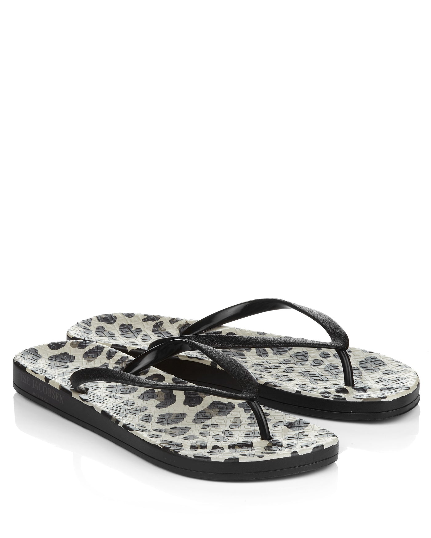 Cheer 03 Black Flipflops - The Espadrille Hut