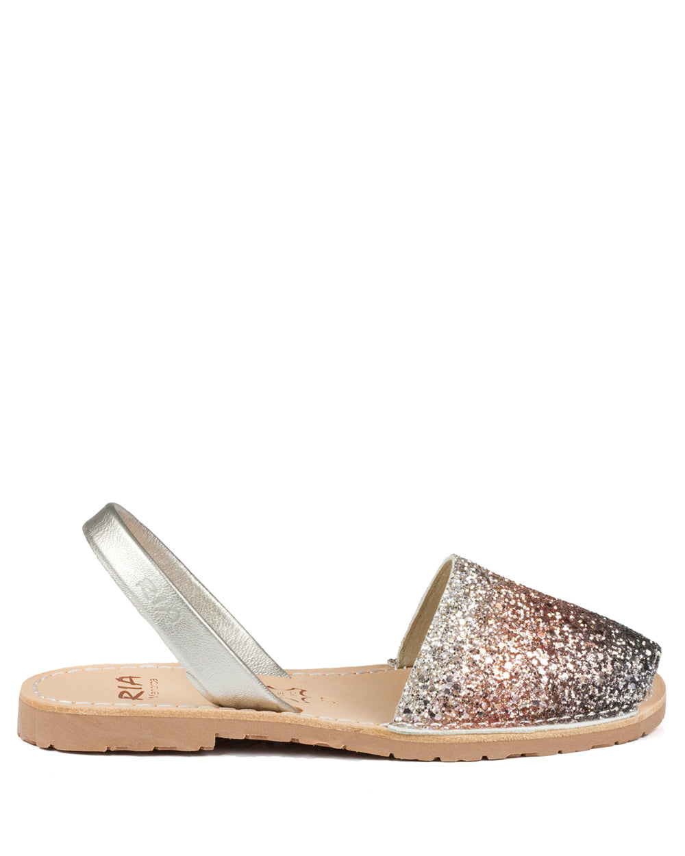 Menorcan Sandals Pink Glitter - The Espadrille Hut