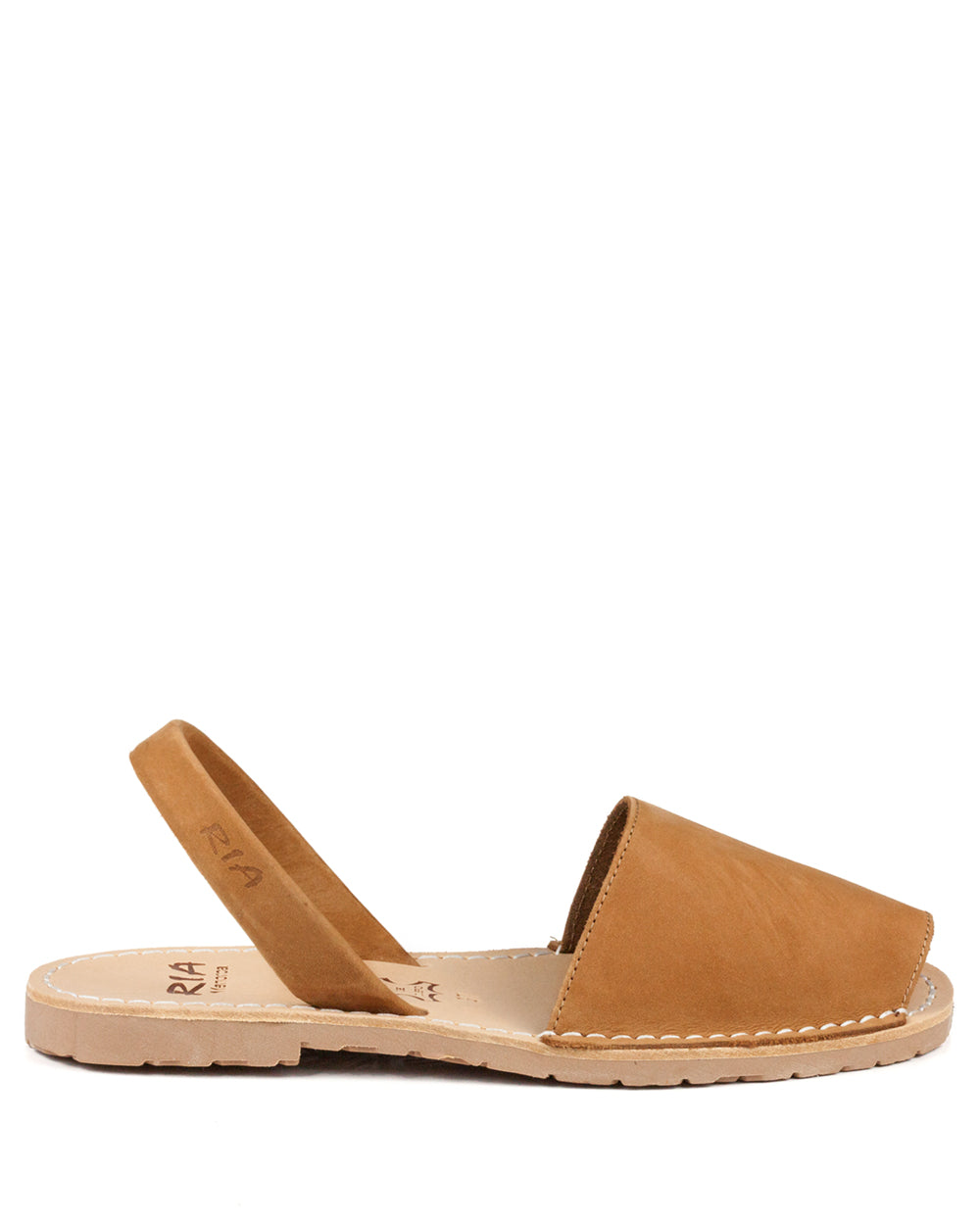 Menorcan Sandals Tan Nubuck - The Espadrille Hut