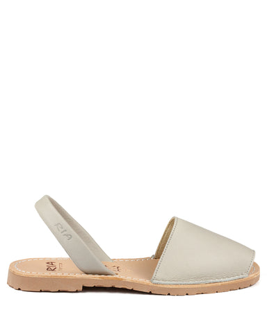 Menorcan Sandals Stone Nubuck - The Espadrille Hut