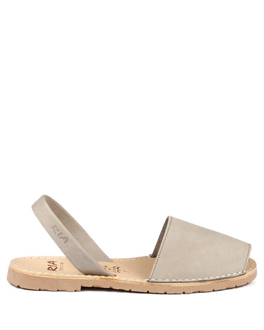 Menorcan Sandals Cristal Stone Leather - The Espadrille Hut