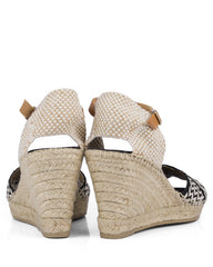 Violet ZZ Black Espadrilles - The Espadrille Hut