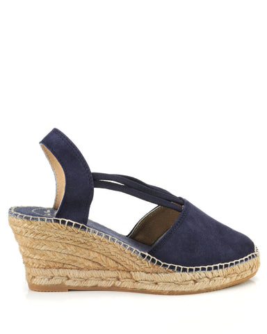 Candy Navy Espadrilles - The Espadrille Hut