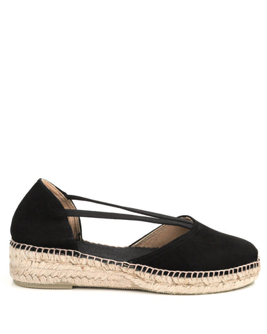 Erla A Black Espadrilles - The Espadrille Hut