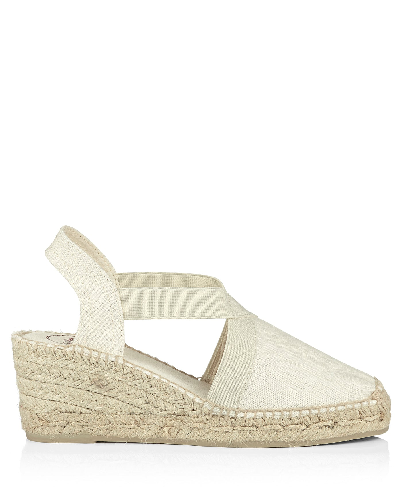 Ter Natural Linen Wedge Espadrille - The Espadrille Hut