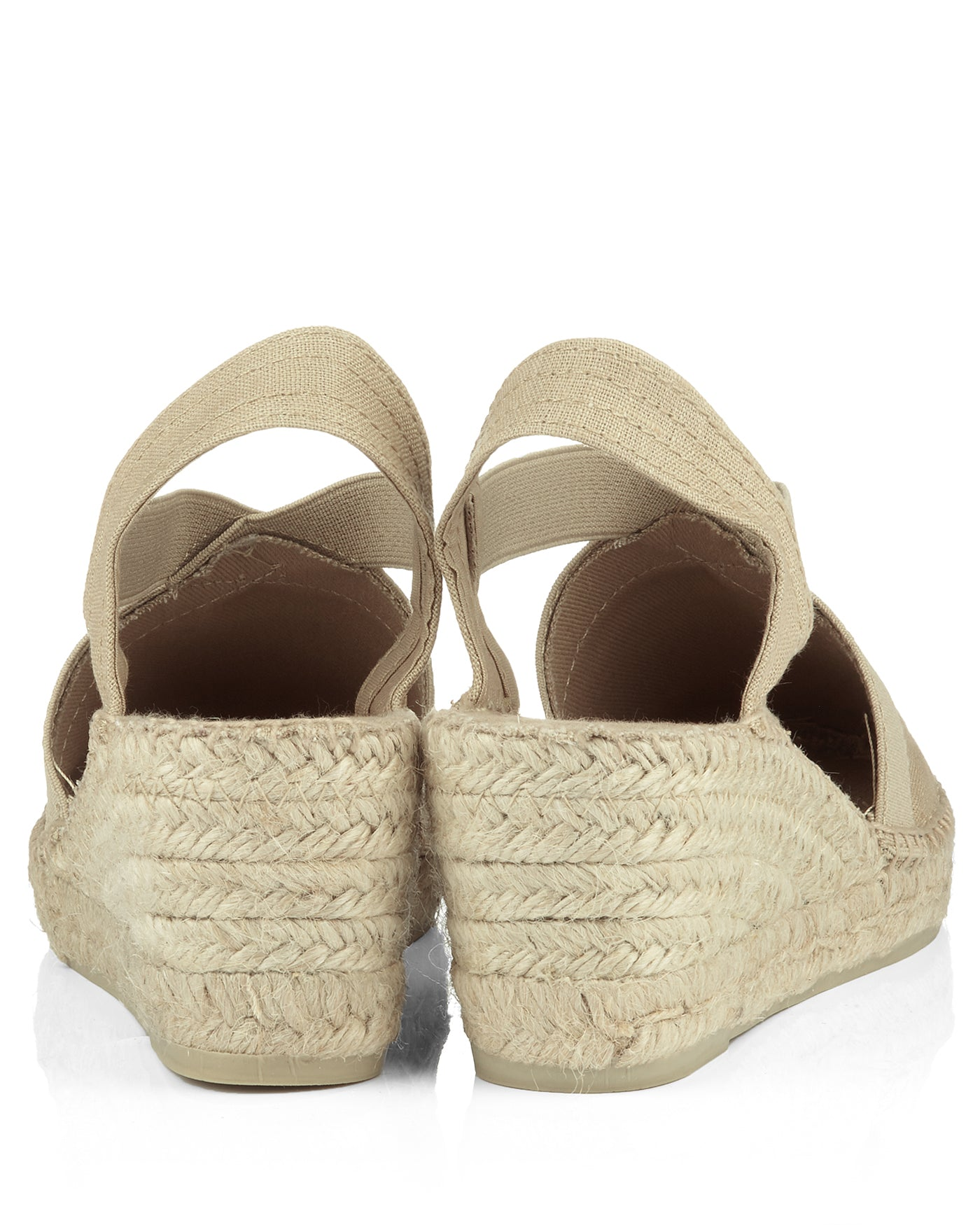 Ter Stone Linen Wedge Espadrille - The Espadrille Hut
