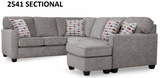 DR 2541 Sectional