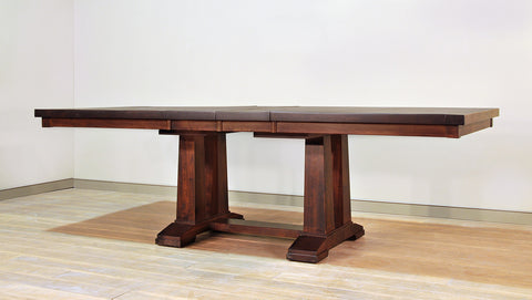 RS Athens Double Pedestal Table