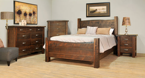 RS Live Edge Bedroom
