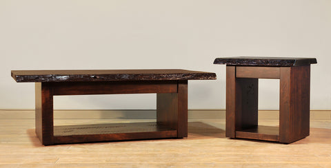 RS Live Edge Occasional Tables