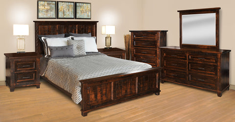 RS Rustic Algonquin Bedroom