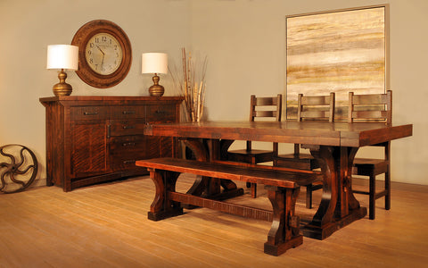RS Rustic Carlisle Dining Collection