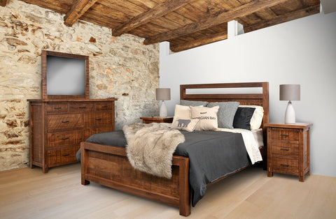 RS Rustic Loft Bedroom