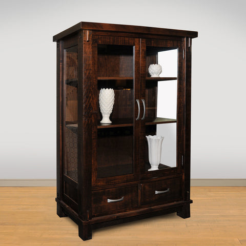RS Timber Showcase Cabinet