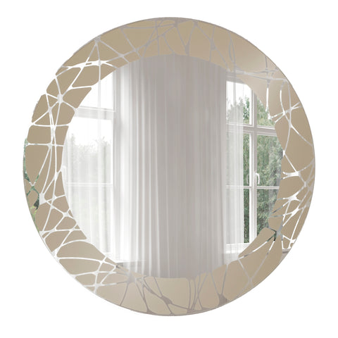 Abstract Wall Mirrors – Breeze Point Home Decor