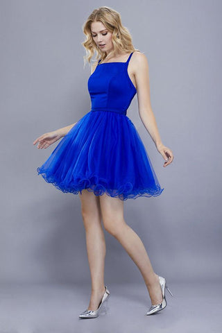 Blue Dress for Blonde Hair