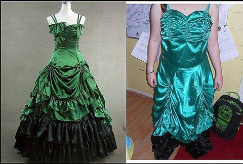 Online Prom Dress Disasters The Dress Outlet