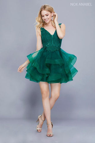 Green Dress for Ginger Hair Color