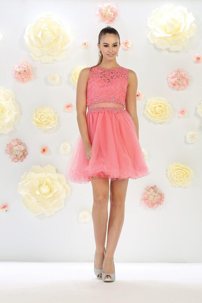 Short Prom Dresses Tagged Coral The Dress Outlet