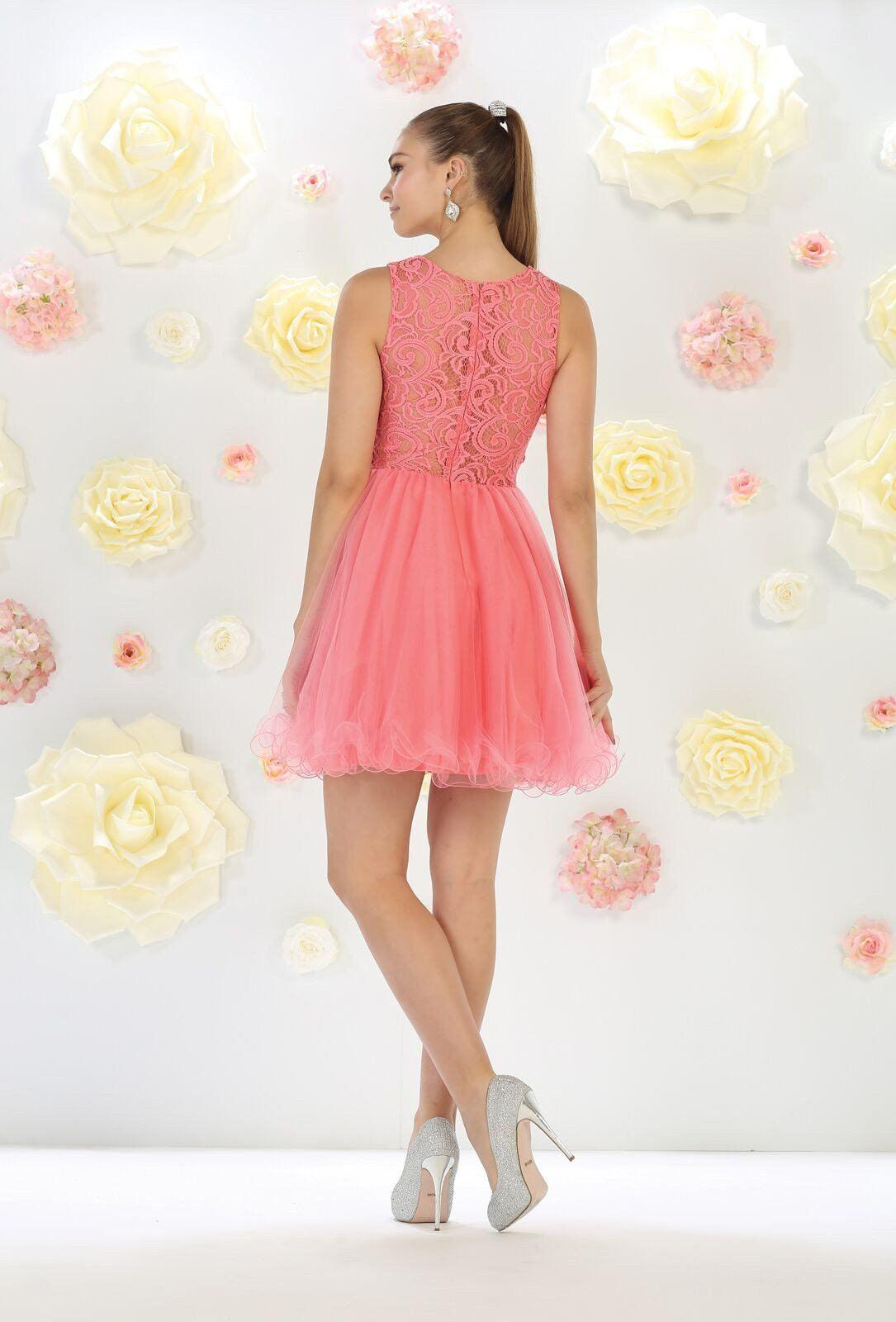 Short Prom Dress Formal Homecoming  Dressoutlet - The -7347