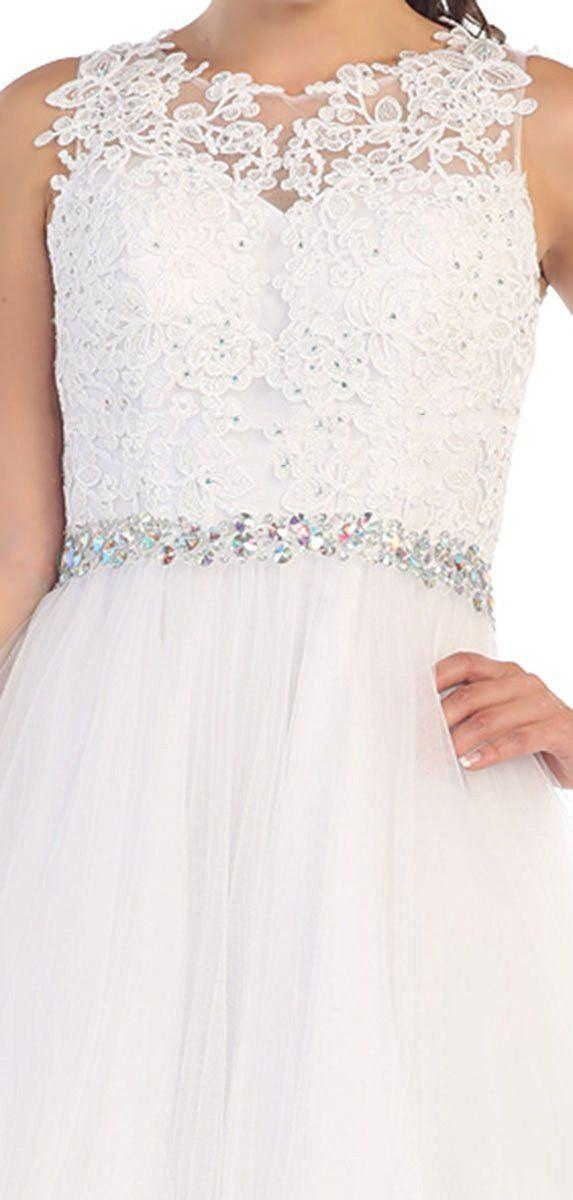Short Prom Homecoming Graduation Dress - The Dress Outlet  May Queen