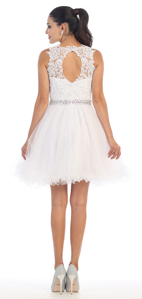 Wedding Short Gown - The Dress Outlet