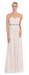 Wedding Long Plus Size Gown - The Dress Outlet Ivory May Queen
