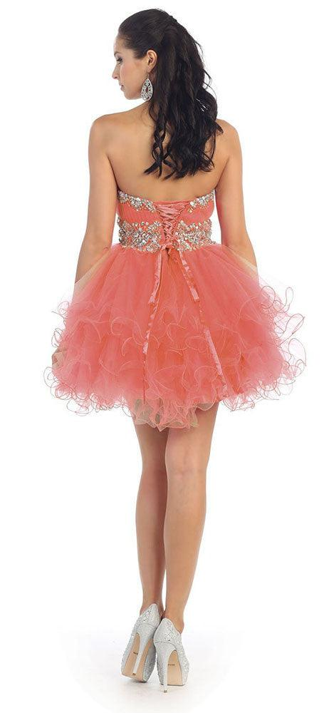 Short Prom Dress Plus Size Homecoming - The Dress Outlet