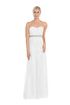 Wedding Long Plus Size Gown - The Dress Outlet White May Queen