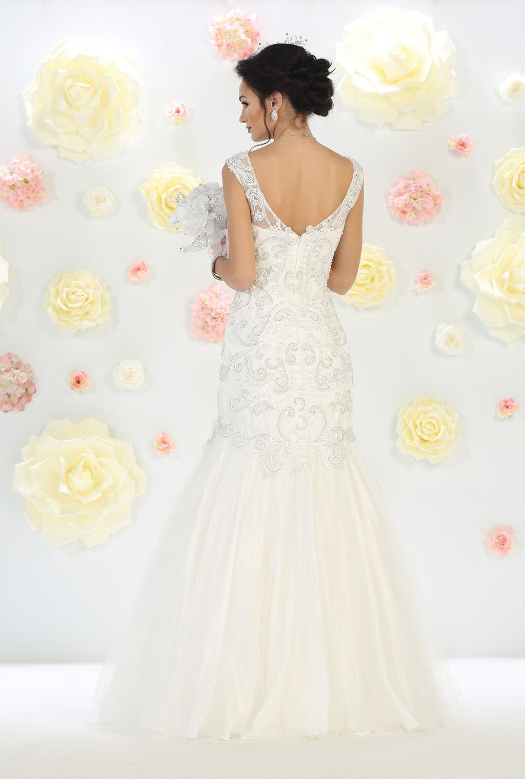 Wedding Long Gown - The Dress Outlet  May Queen