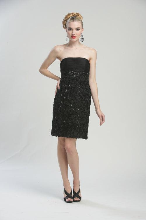 Sue Wong Short Cocktail Dress - The Dress Outlet Sue Wong