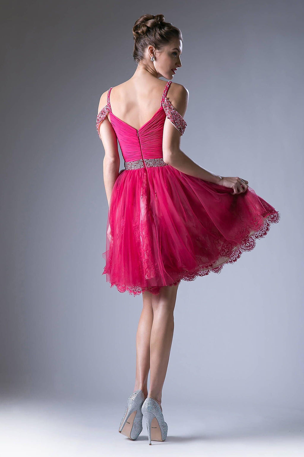 Short Prom Homecoming Cocktail Dress - The Dress Outlet