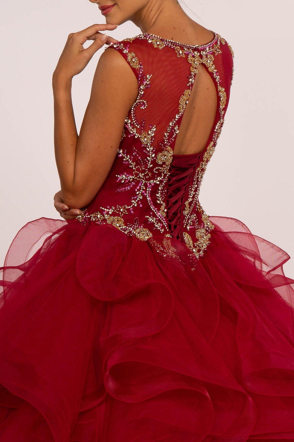 Sweet 16 Ball Gown Long Quinceanera - The Dress Outlet