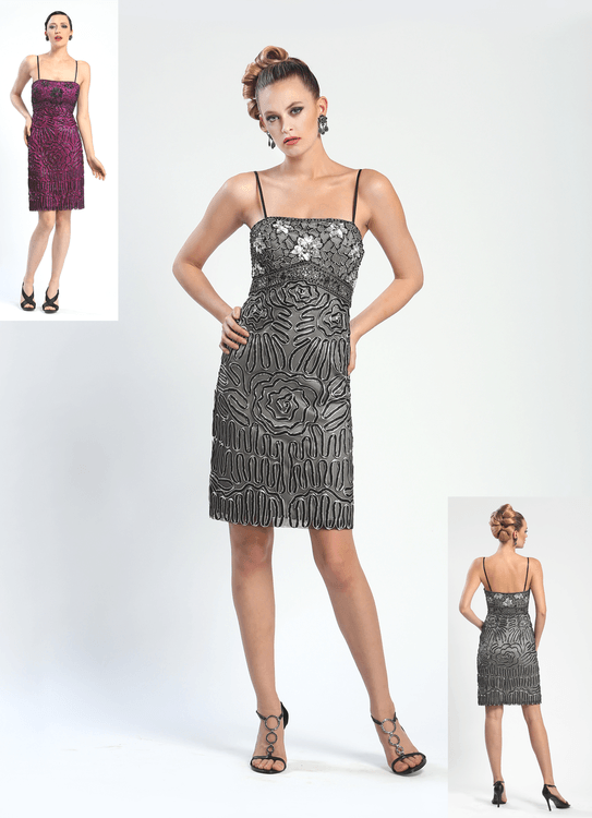 Sue Wong Short Cocktail Party Dress - The Dress Outlet Sue Wong