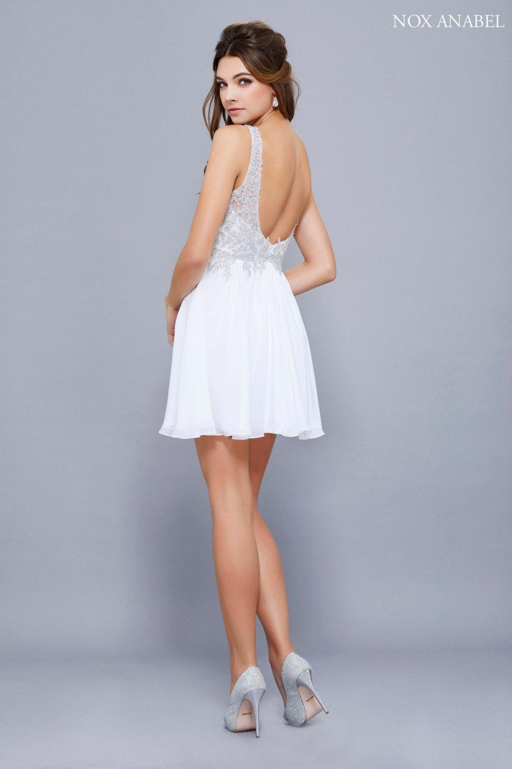 Short Prom Formal Homecoming Dress - The Dress Outlet