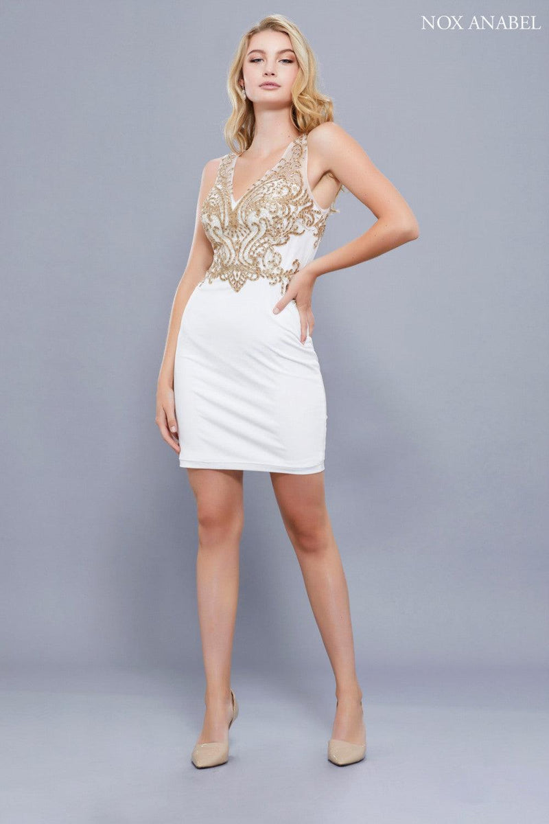Short Prom Fitted Homecoming Dress