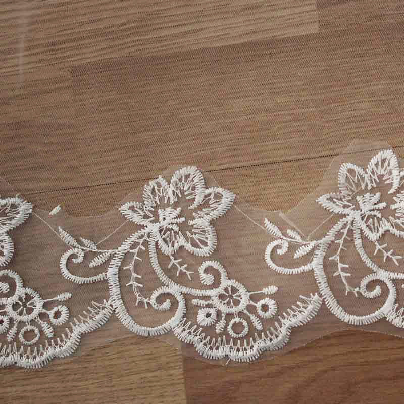 Wedding Accessories Bridal Veil Lace Edge - The Dress Outlet