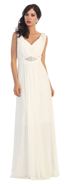 Wedding Long Gown Plus Size - The Dress Outlet Ivory May Queen