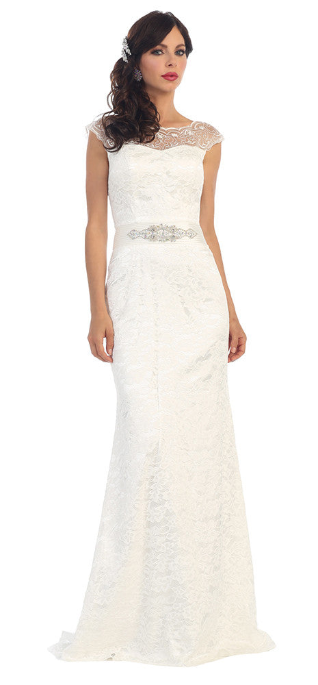 f5618264f ... Wedding Long Gown Plus Size - The Dress Outlet May Queen ...