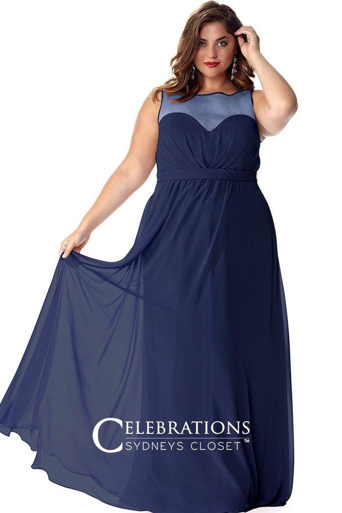 75dfd9ed2f1 Sydneys Closet Long Plus Size Prom Dress