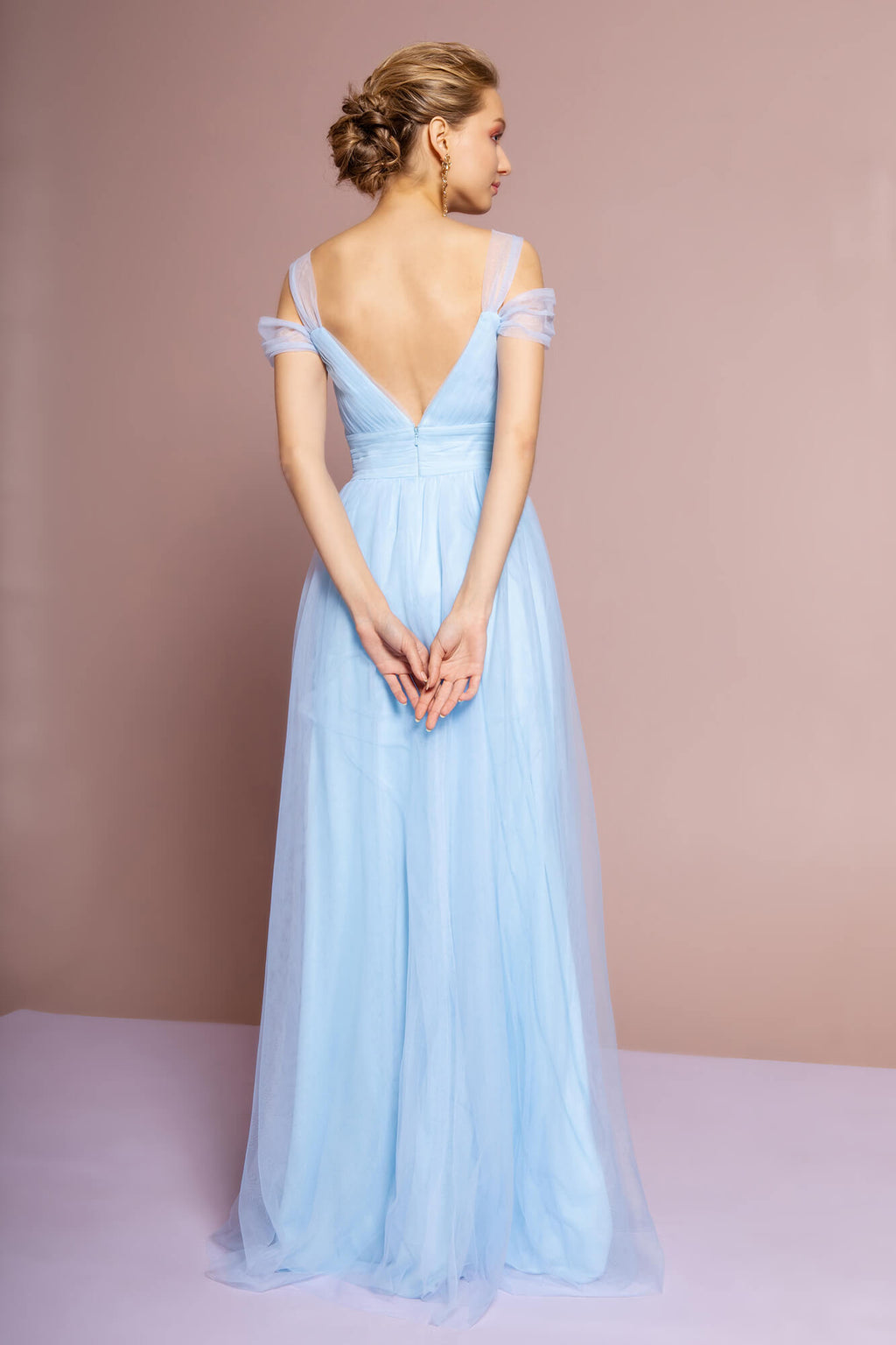 Sweethearted Formal Long Dress Bridesmaid - The Dress Outlet  Elizabeth K
