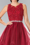 Sleeveless Prom Short Dress Homecoming