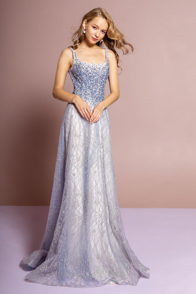 Sleeveless Long Prom Dress Evening Gown - The Dress Outlet Elizabeth K