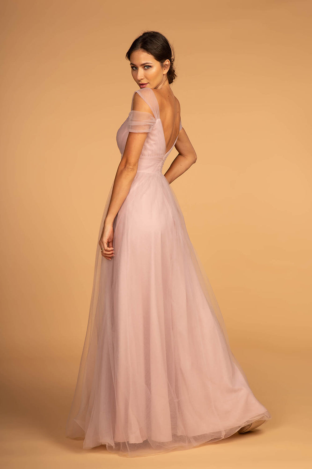 Sweethearted Formal Long Dress Bridesmaid - The Dress Outlet