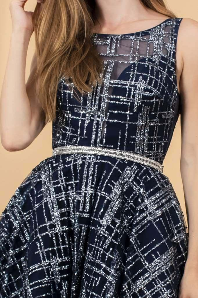 Short Sleeveless Prom Dress Cocktail - The Dress Outlet