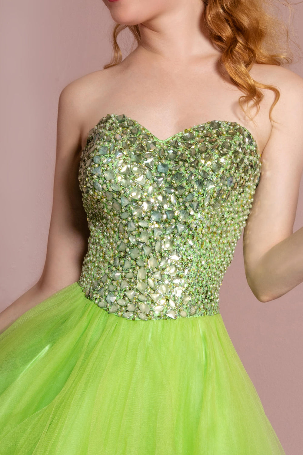 Sweetheart Short Prom Dress Homecoming - The Dress Outlet