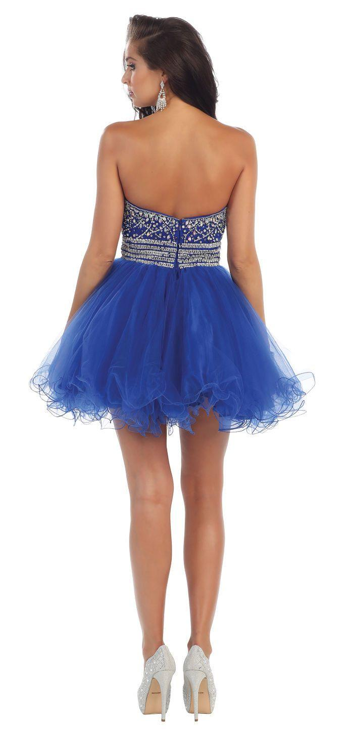 Short Prom Formal Cocktail Dress Homecoming - The Dress Outlet