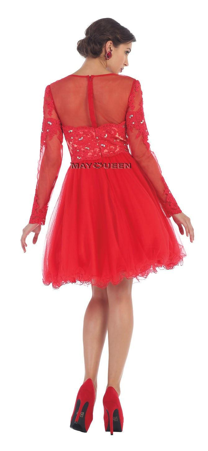 Short Prom Dress Homecoming - The Dress Outlet